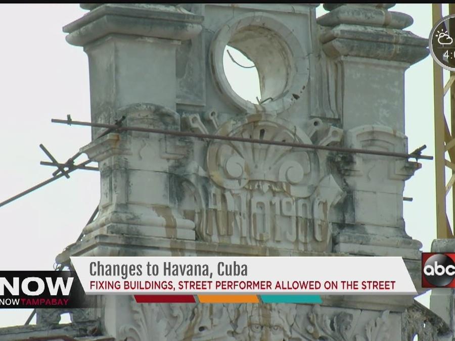 Changes on the street of Havana