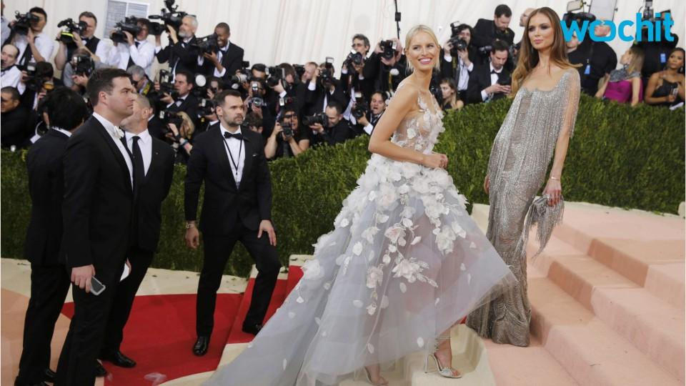 IBM and Marchesa make Light-Up Dress for the Met Gala