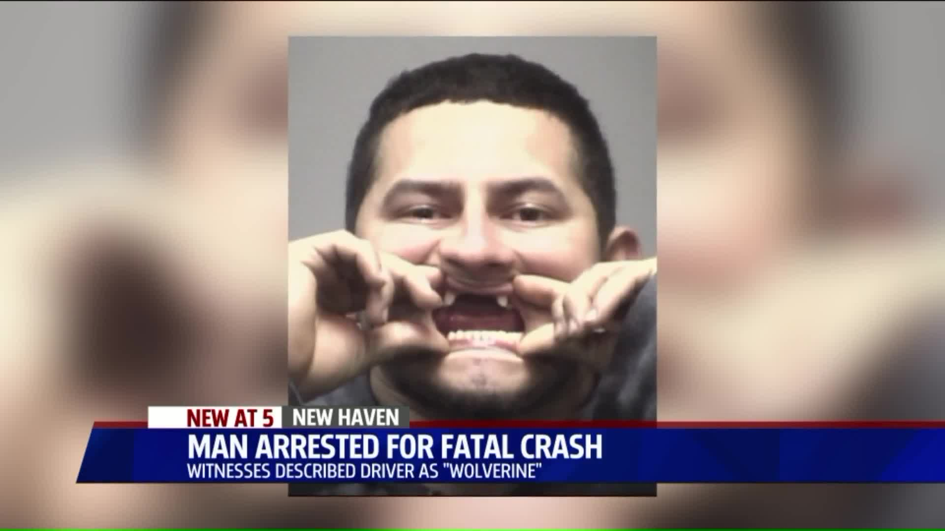 Man Who Calls Himself 'Wolverine,' Has Fangs Charged In Fatal Hit-And-Run