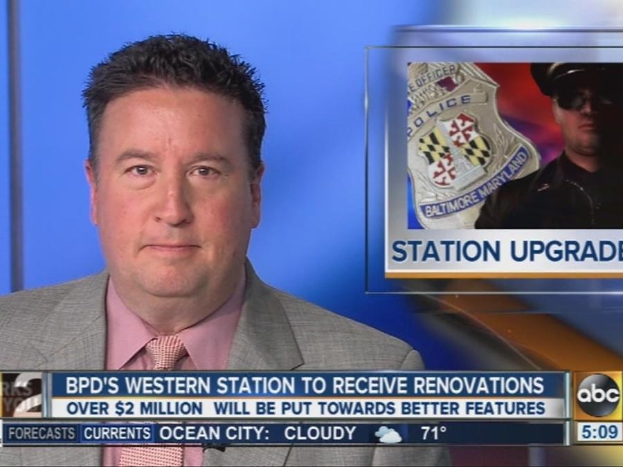 Baltimore Police western district station getting renovations