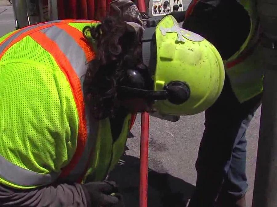 ODOT crews try to prevent repeat flooding by cleaning storm drains