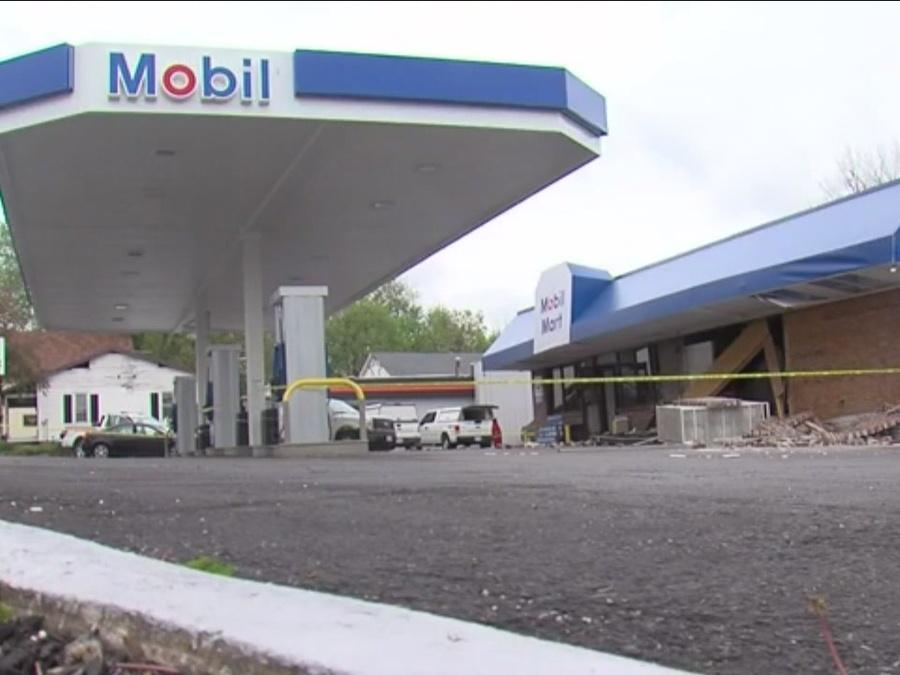 Ashland Mobile Mart with history of gasoline leaks explodes overnight