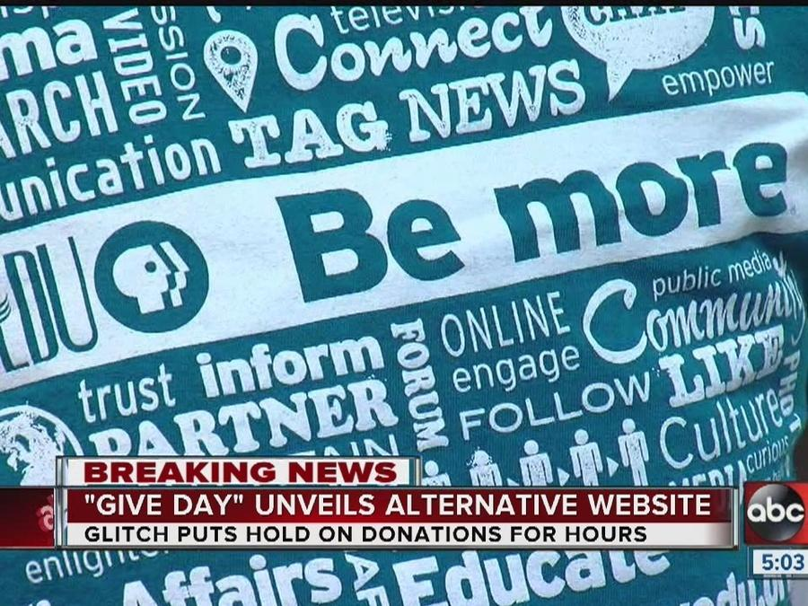 Glitch forces Give Day Tampa Bay to create alternative website for donors