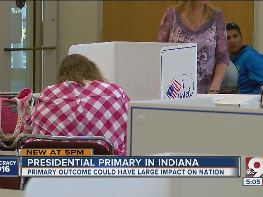 Indiana primary could have huge impact on nation