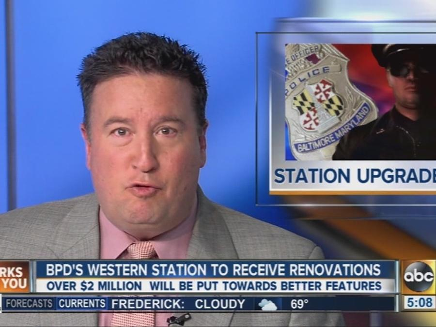 $2.4 million renovation planned for Baltimore Police's Western District station