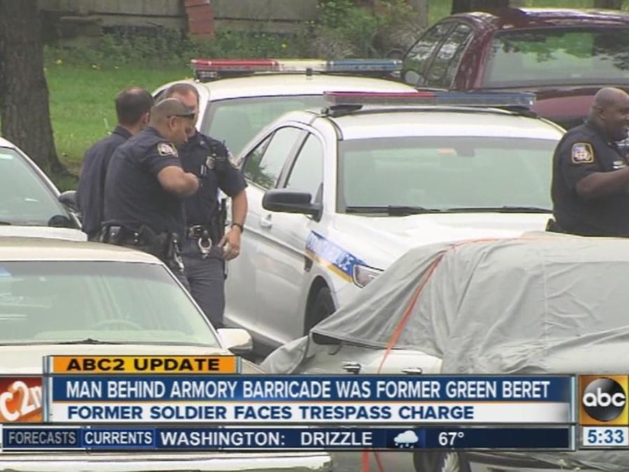 Man who barricaded himself in National Guard building was former Green Beret