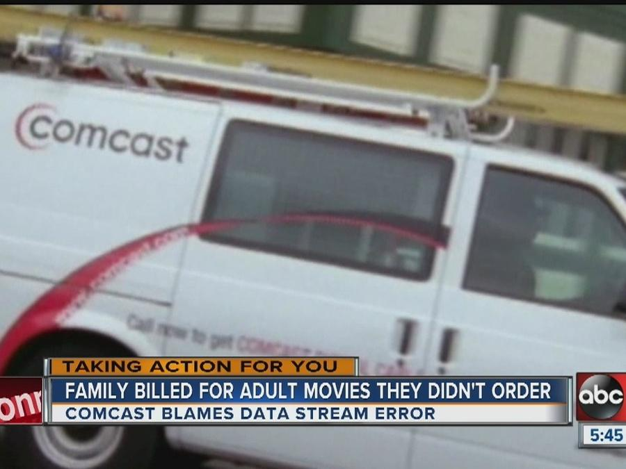 Family billed for adult movies they didn't order
