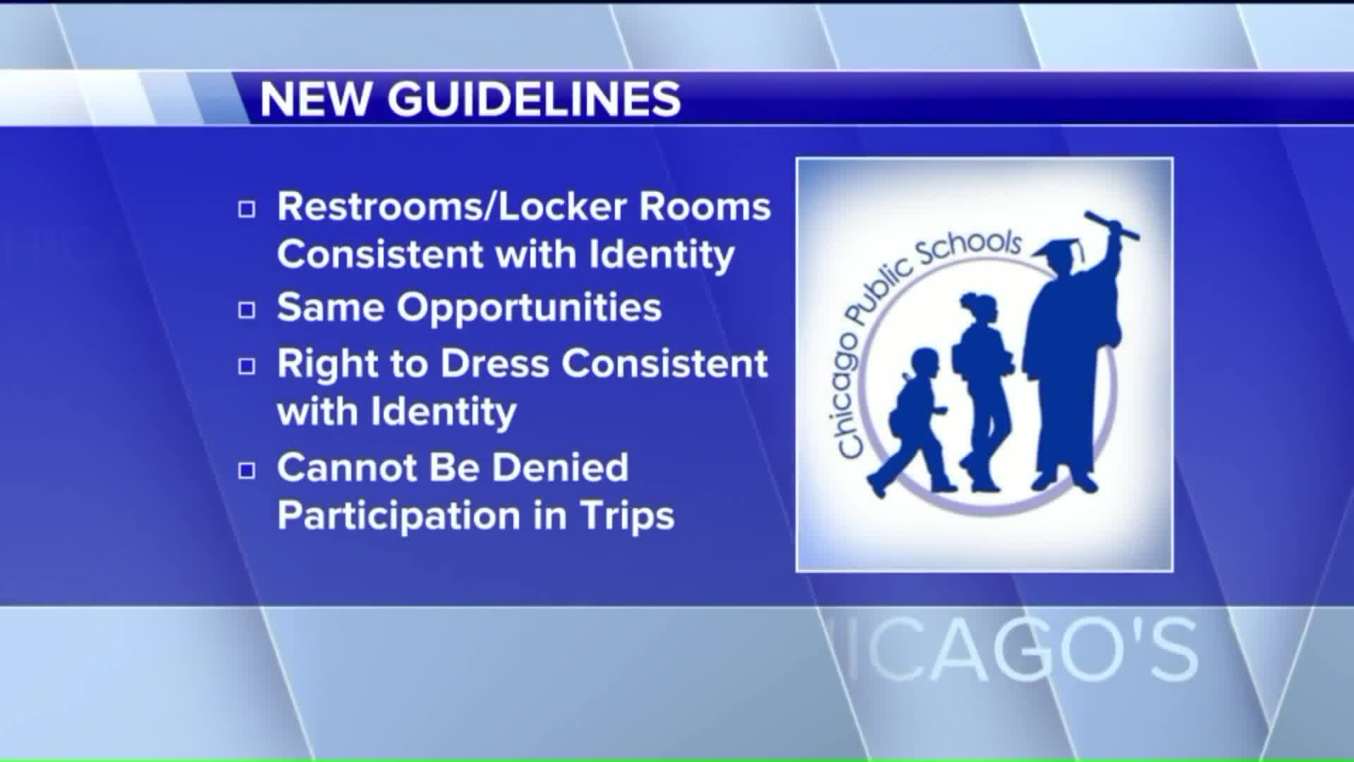 Chicago Public Schools Release New Guidelines To Support Transgender Students