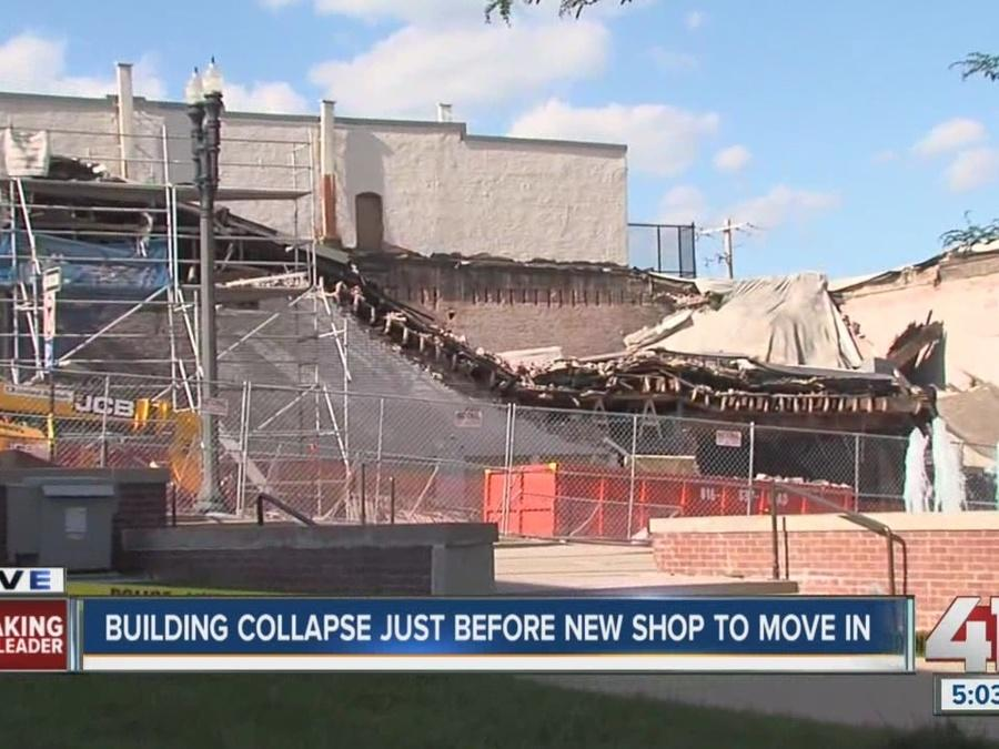 Liberty building collapses during renovation