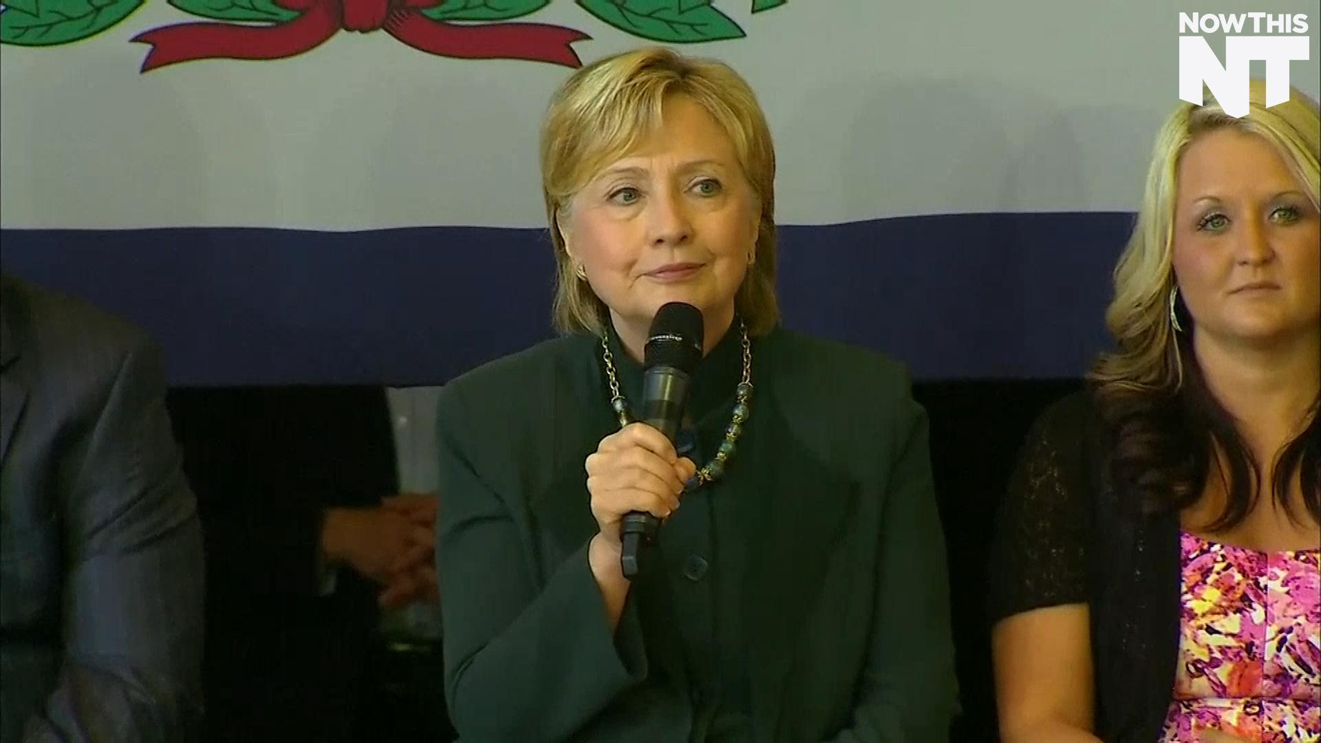 Clinton Opens Up About How Opioid Overdose Has Affected Loved Ones