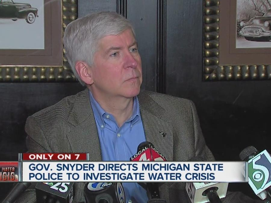 Governor order MSP investigation into Flint water crisis