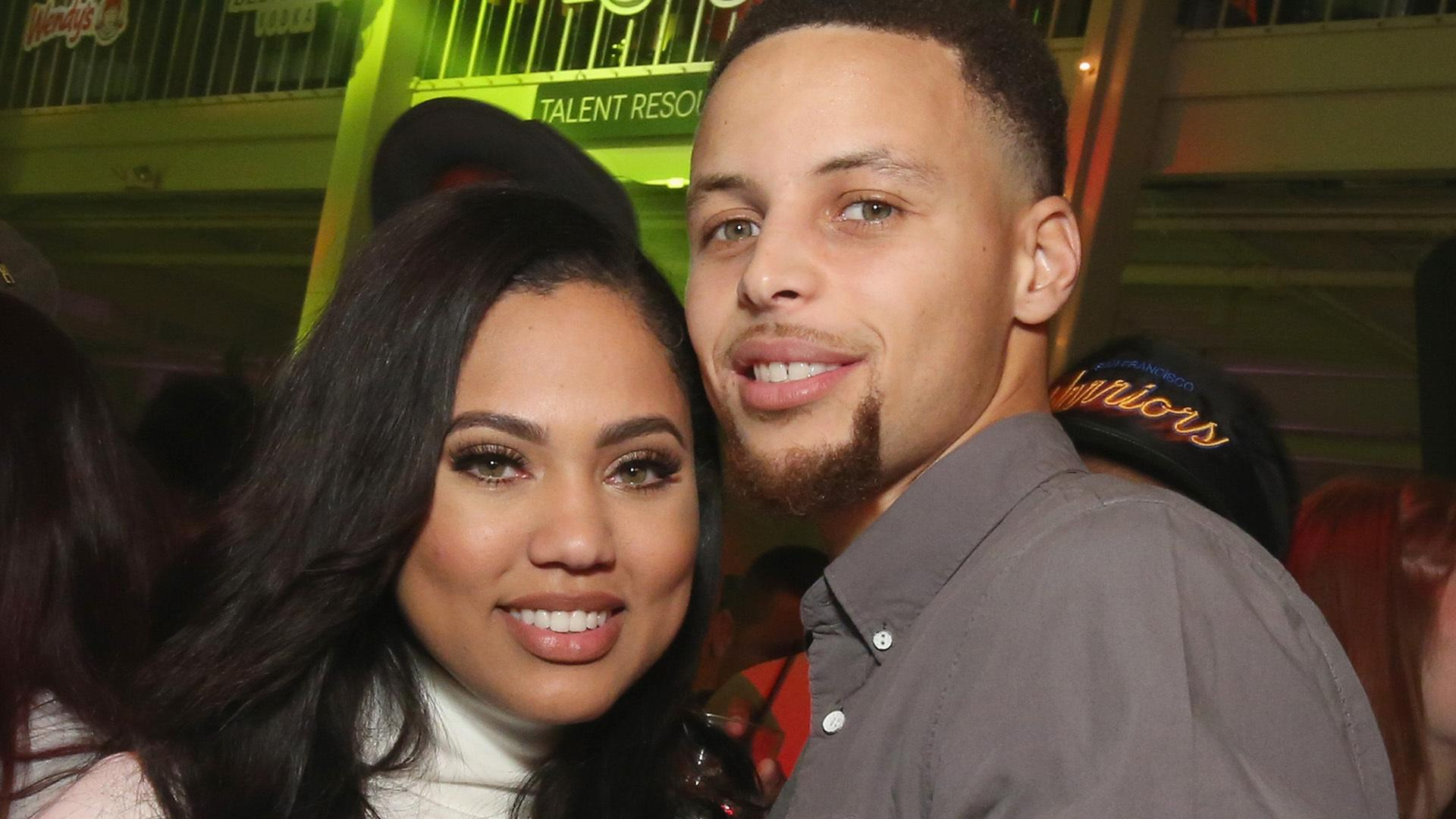 Stephen Curry Recalls Awkward First Kiss With Wife Ayesha