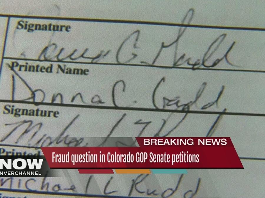 Voter says her signature was forged on petition to place GOP Senate candidate Jon Keyser on ballot