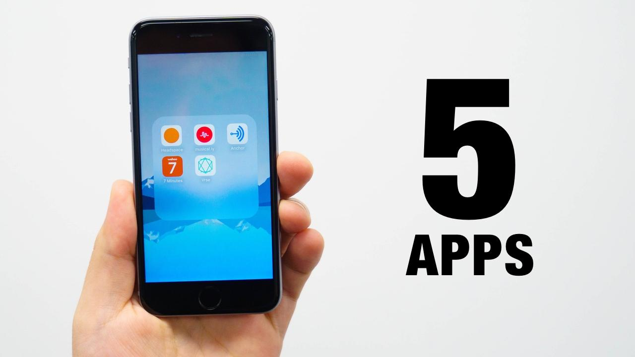 5 Apps You Should Be Using