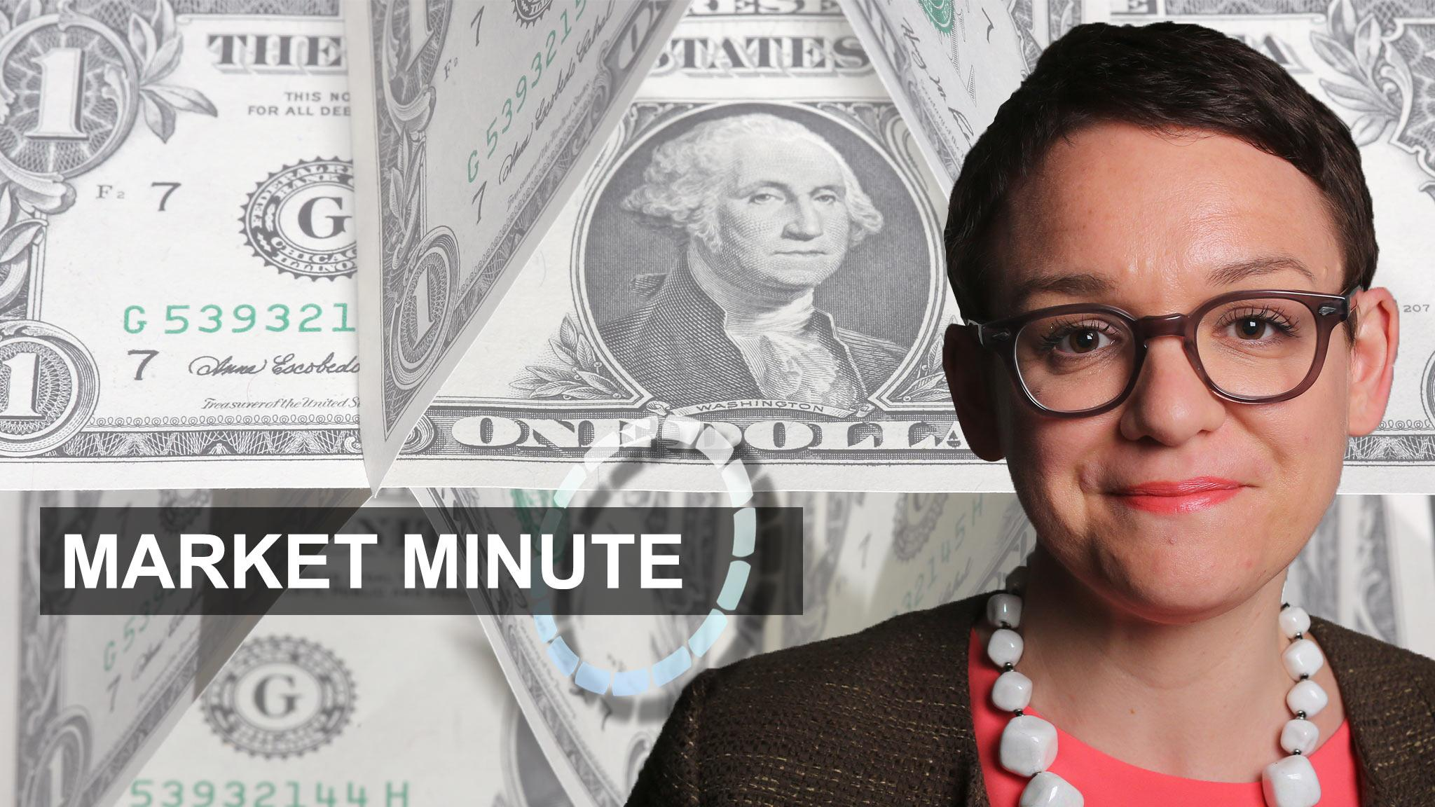 Market Minute - gains for dollar, relief for Europe