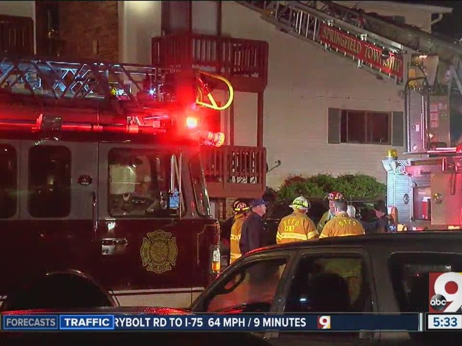 3 killed in Springfield Township apartment fire