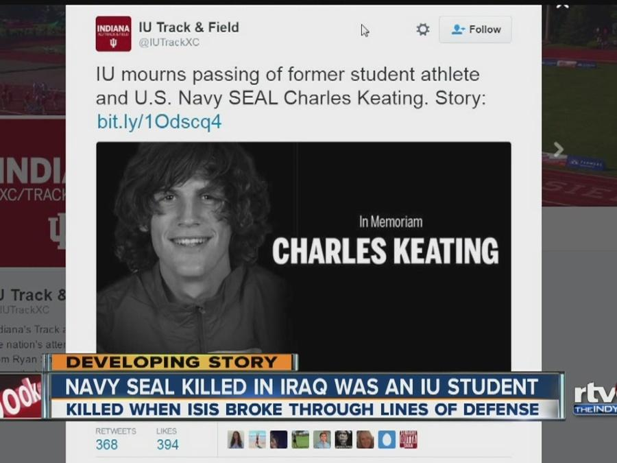 Navy SEAL killed in Iraq attended Indiana University