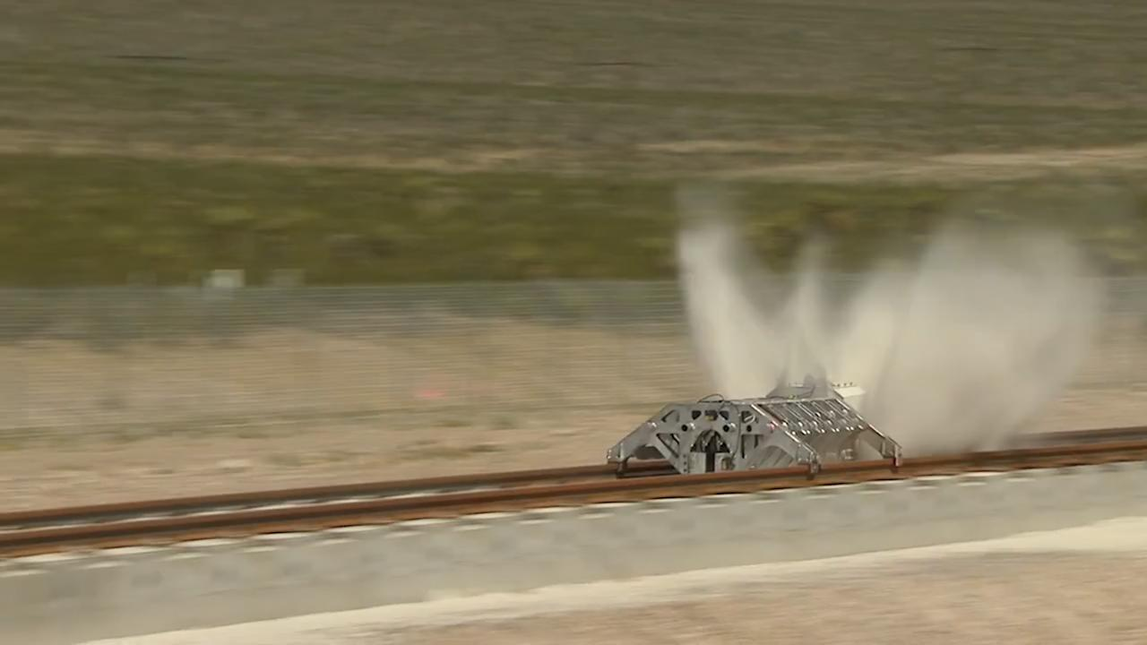 Hyperlooping in the Desert