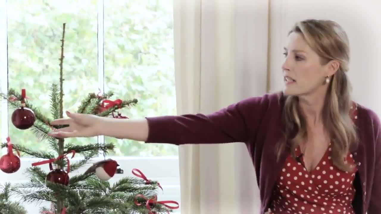 Sophie Coran's Christmas: A Stylish Red Tree