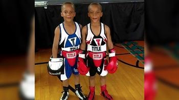 These 7-year-old boxing sensations are fierce and adorable