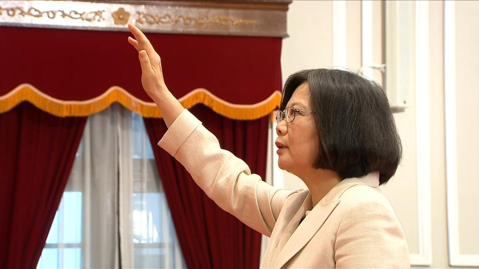 First Female President Takes Office in Taiwan