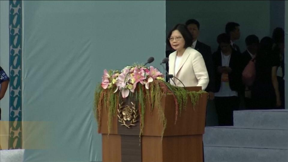 China-Weary Taiwanese Leader Sworn In