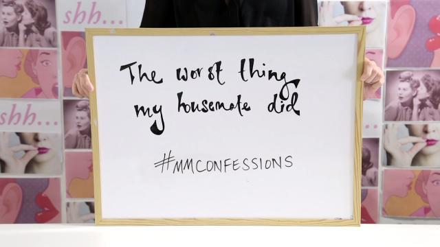 MM Confessions: The worst things housemates do.