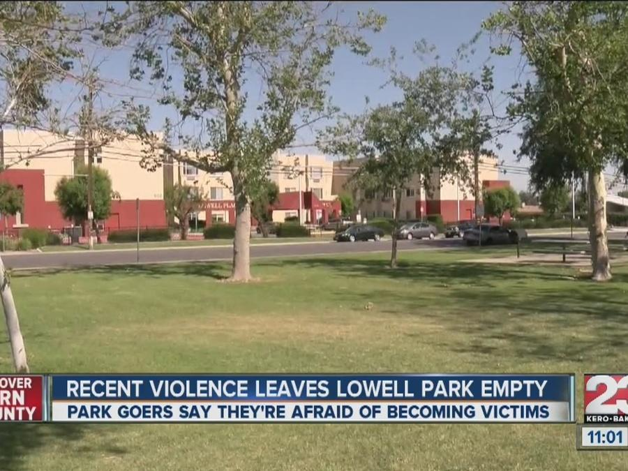 Recent violence leaves Lowell Park empty