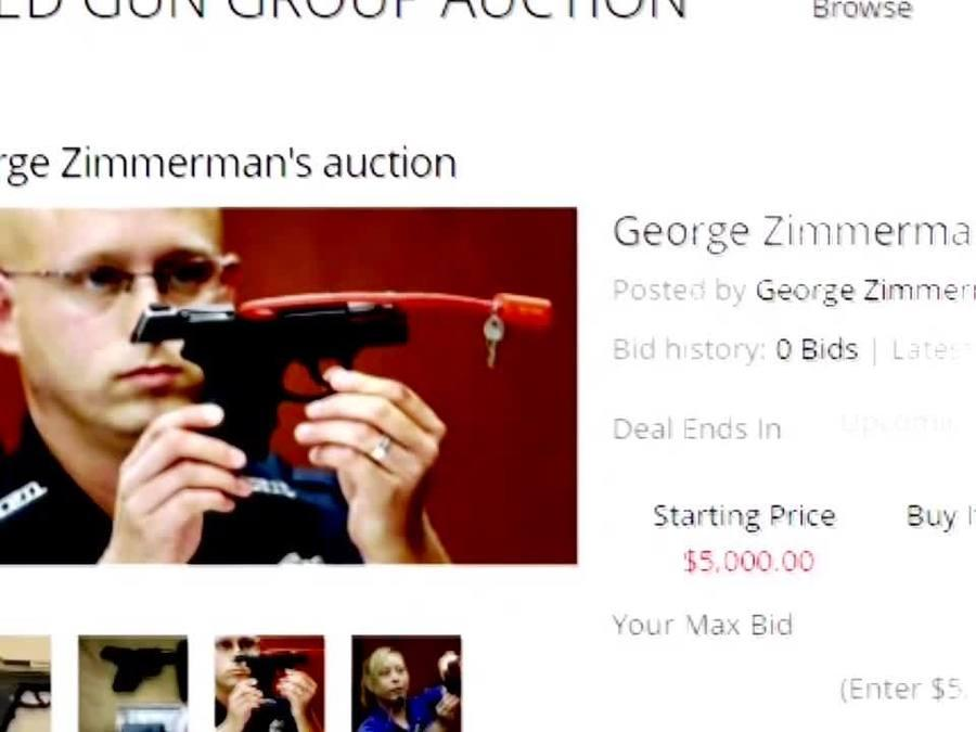 EXCLUSIVE: George Zimmerman talks about selling gun that killed Trayvon Martin