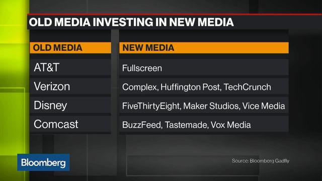 New Media Finds Itself Under Old Media's Umbrella