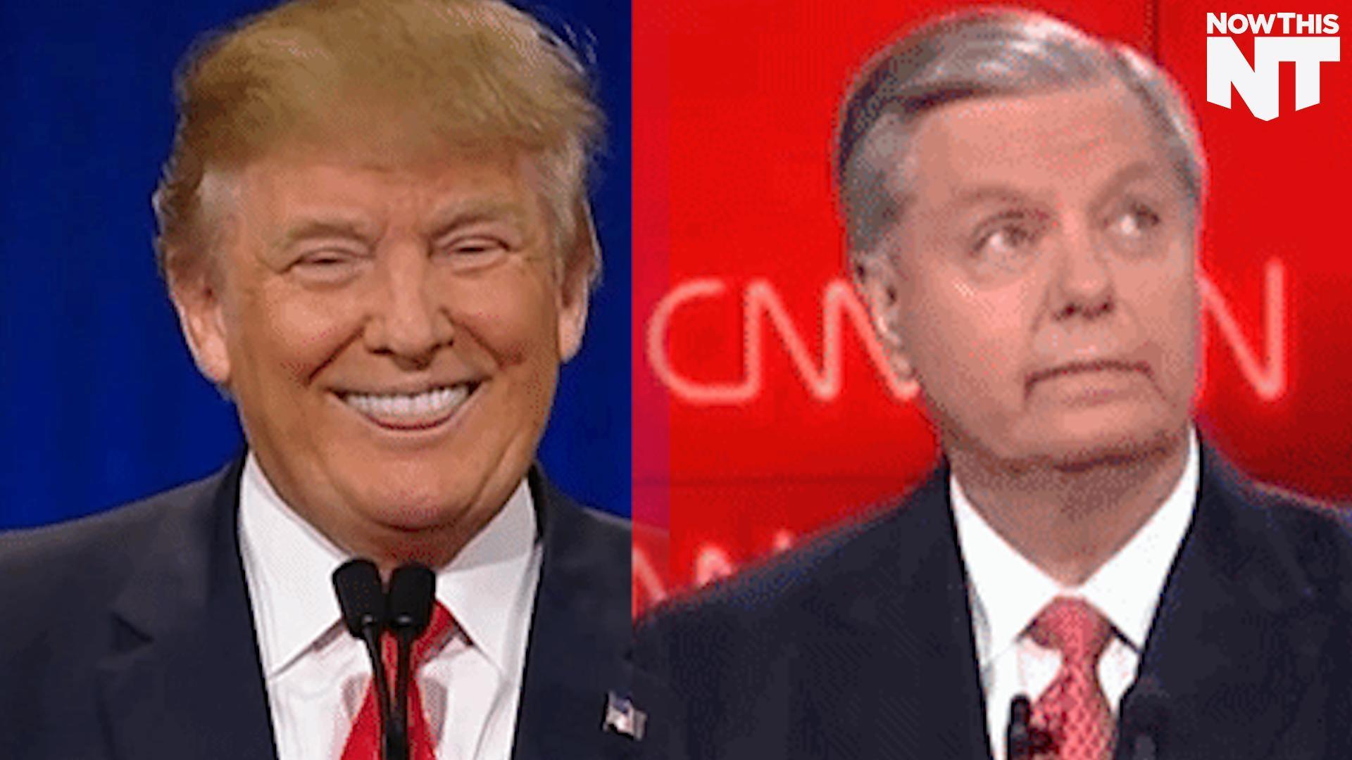 Lindsey Graham And Mitt Romney Give Up Trying To Stop Trump