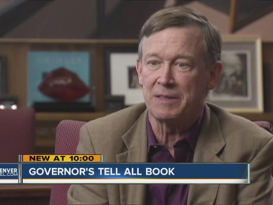 Gov. John Hickenlooper reveals secrets in 'Opposite of Woe: My Life in Beer and Politics'