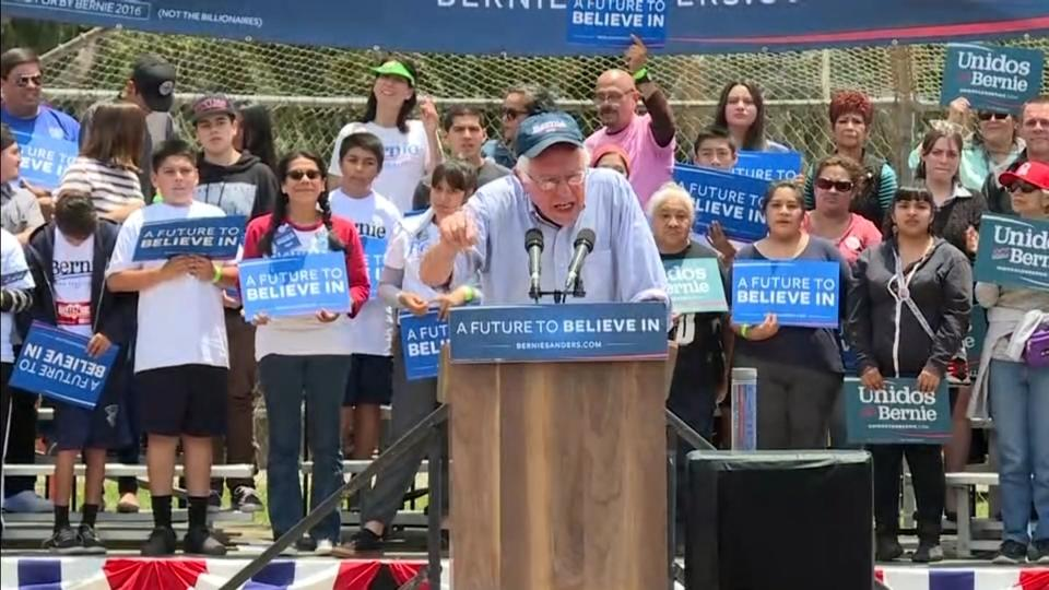 Sanders banking on California for White House momentum