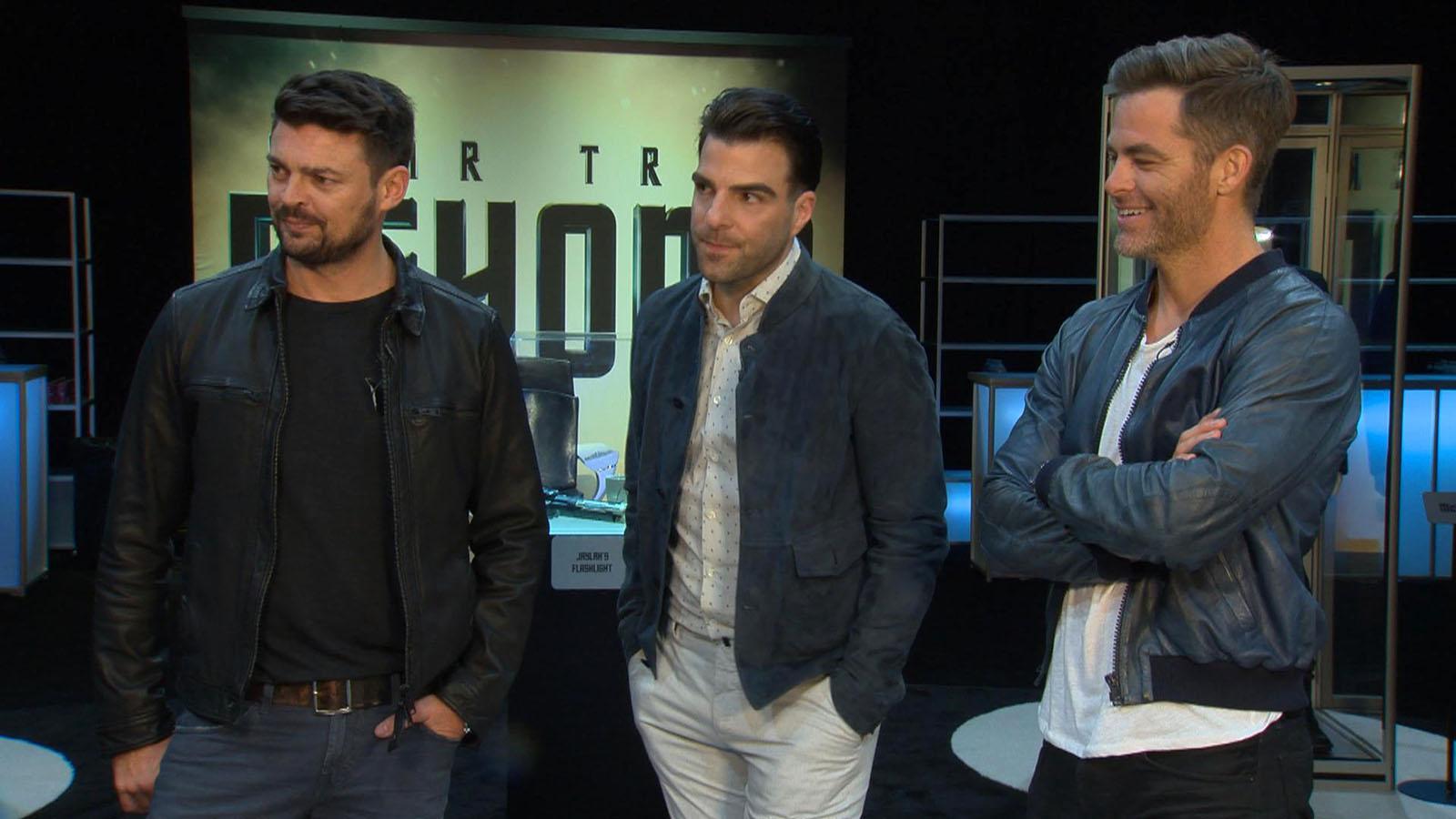 Karl Urban, Zachary Quinto & Chris Pine Tease 'Star Trek Beyond'