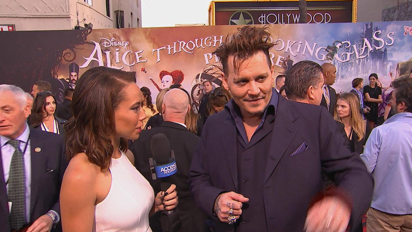 Johnny Depp Explores Different Sides Of The Hatter In 'Alice'