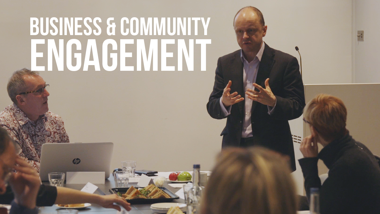 Business and Community Engagement: A Partnership of Equals