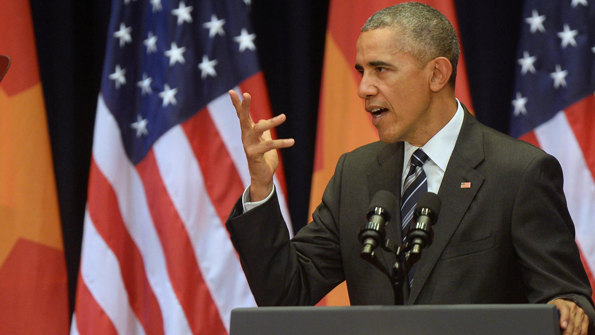 Obama in Vietnam: I've Never Seen So Many Motorbikes