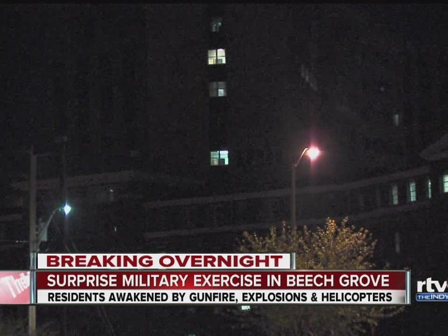 Beech Grove residents awoken by booms, gunshots