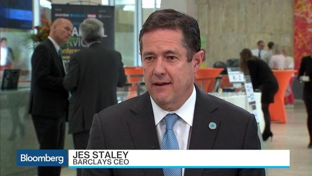 Barclays CEO Staley: In a Very Good Place Right Now