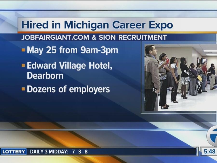 Workers Wanted: Hired in Michigan Career Expo