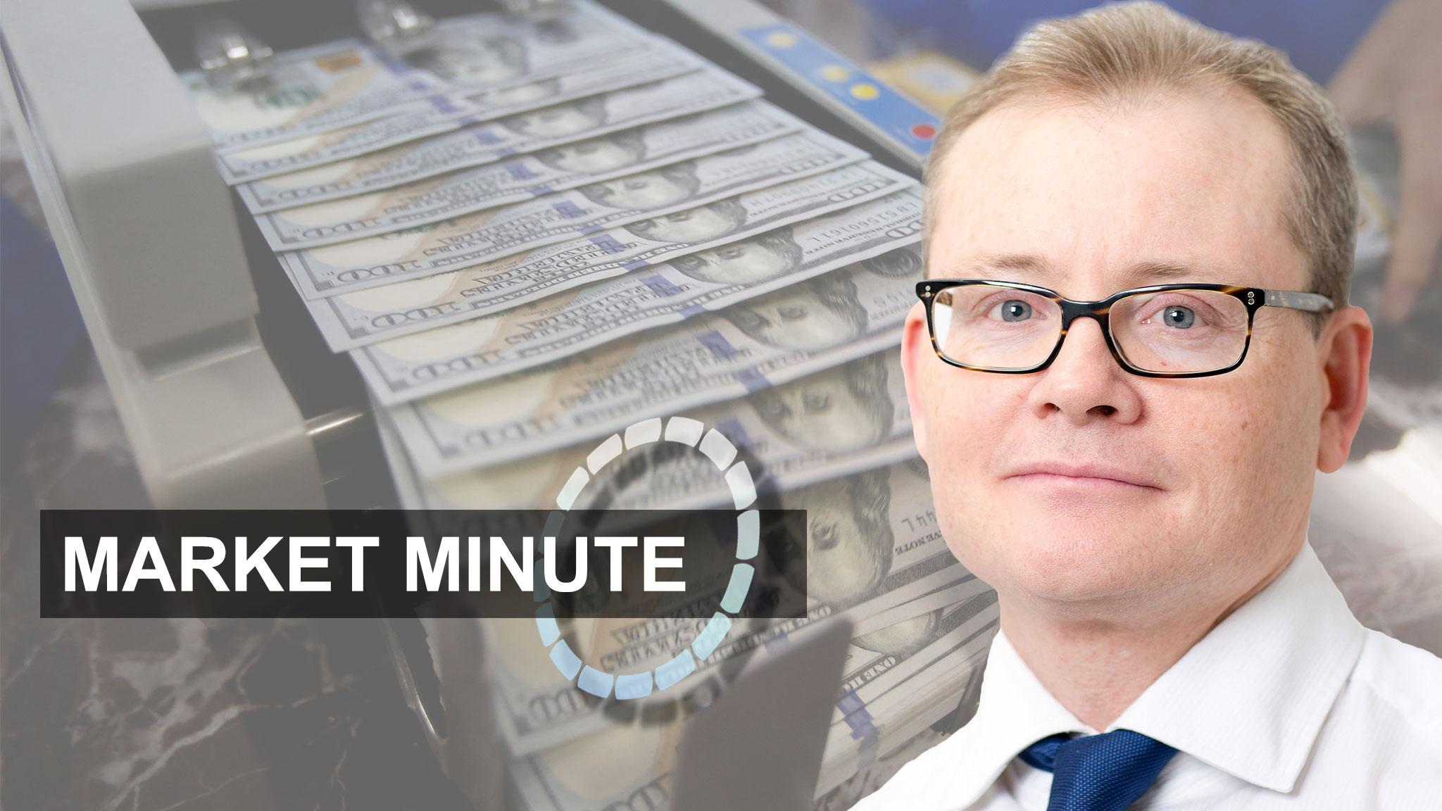 Market Minute — dollar gains, European shares rebound