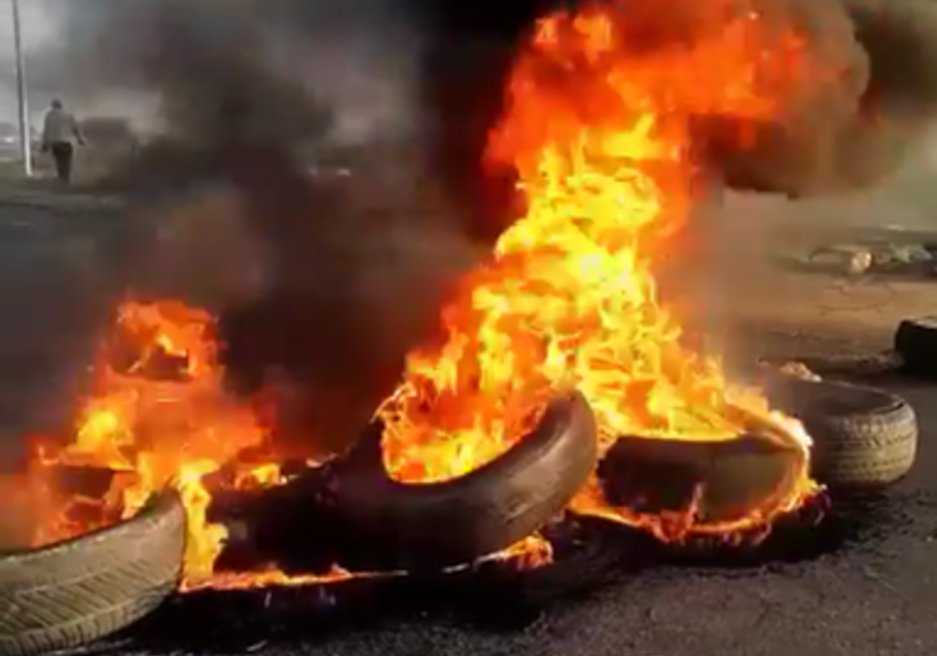 Protests Against Forced Evictions in Hammanskraal Turn Violent