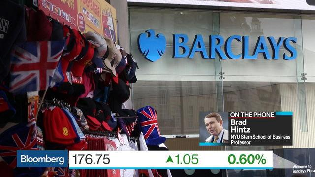 Brad Hintz on Barclays' Challenges Ahead
