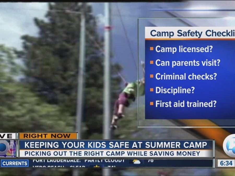 Tips to keep your kids safe at summer camp