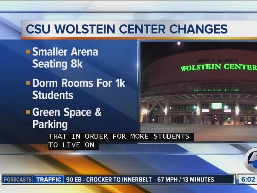 Cleveland State University releases proposal to demolish Wolstein Center