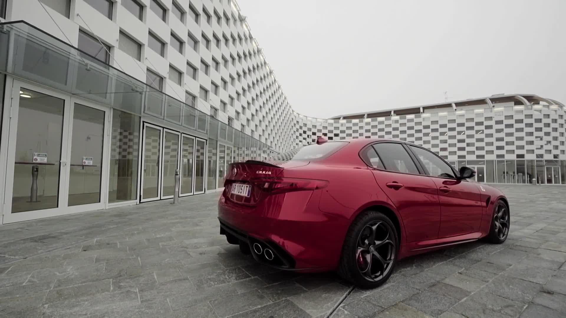 Alfa Romeo Giulia Quadrifoglio Design Preview