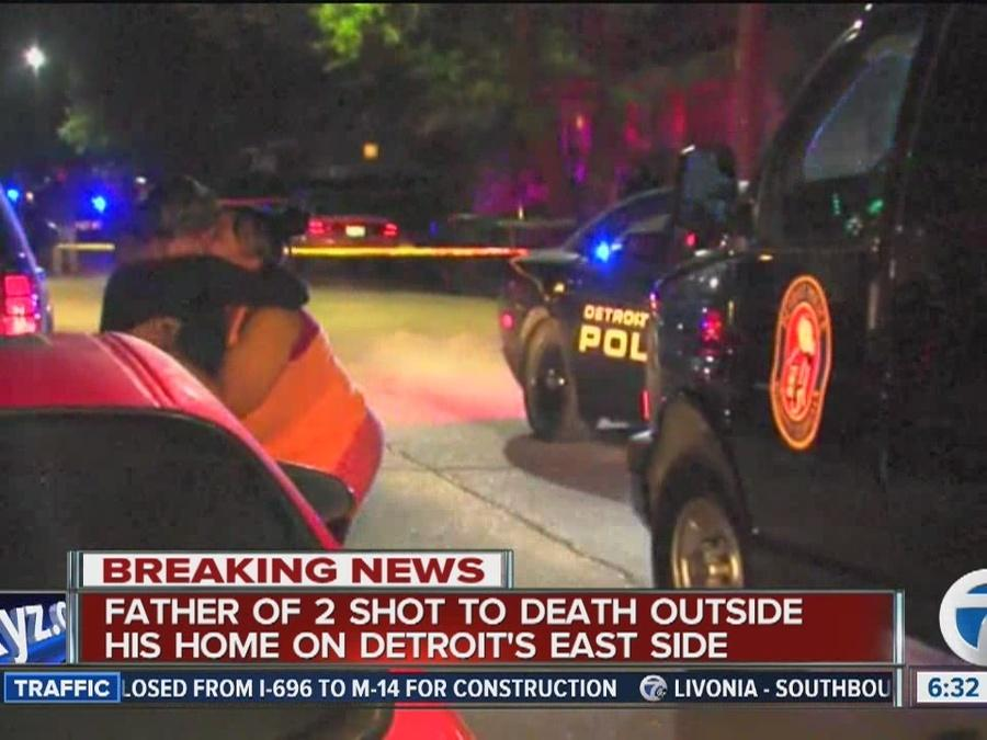 Father of 2 shot-to-death on Detroit's East Side