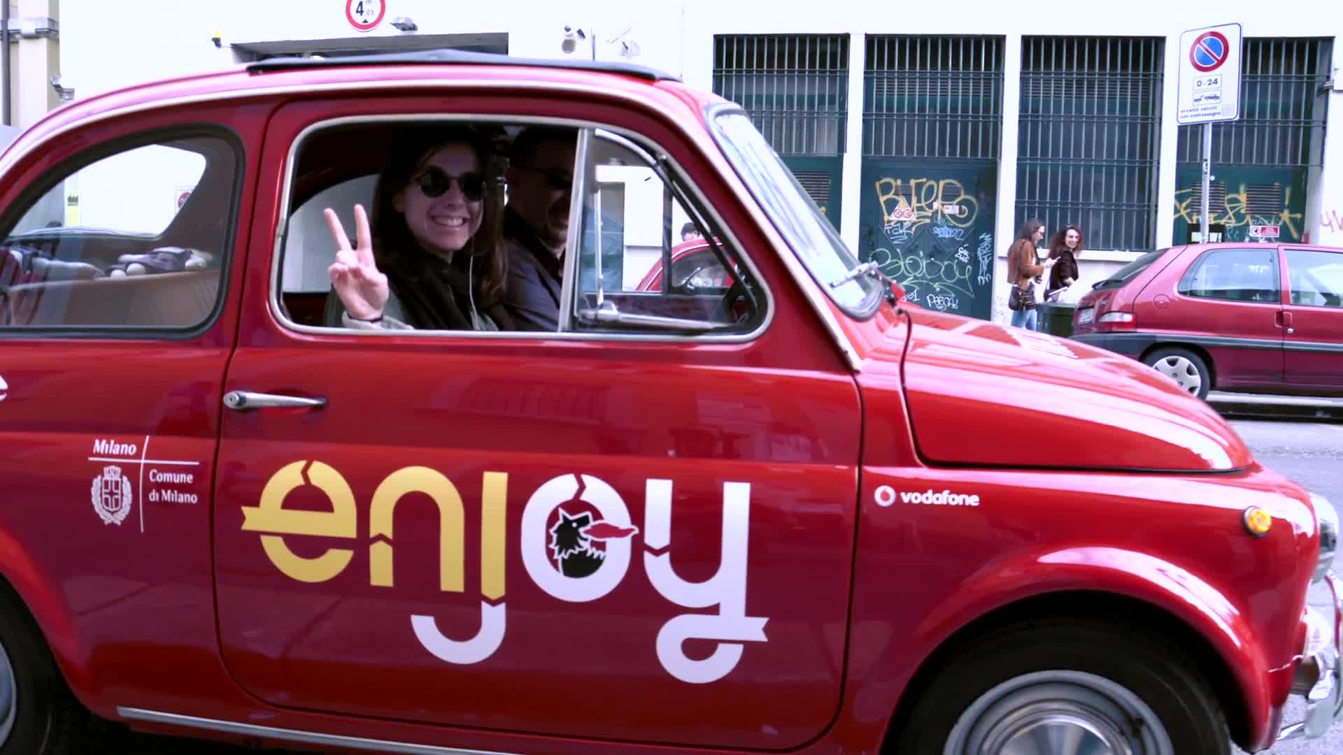 Fiat 500 vintage Enjoy
