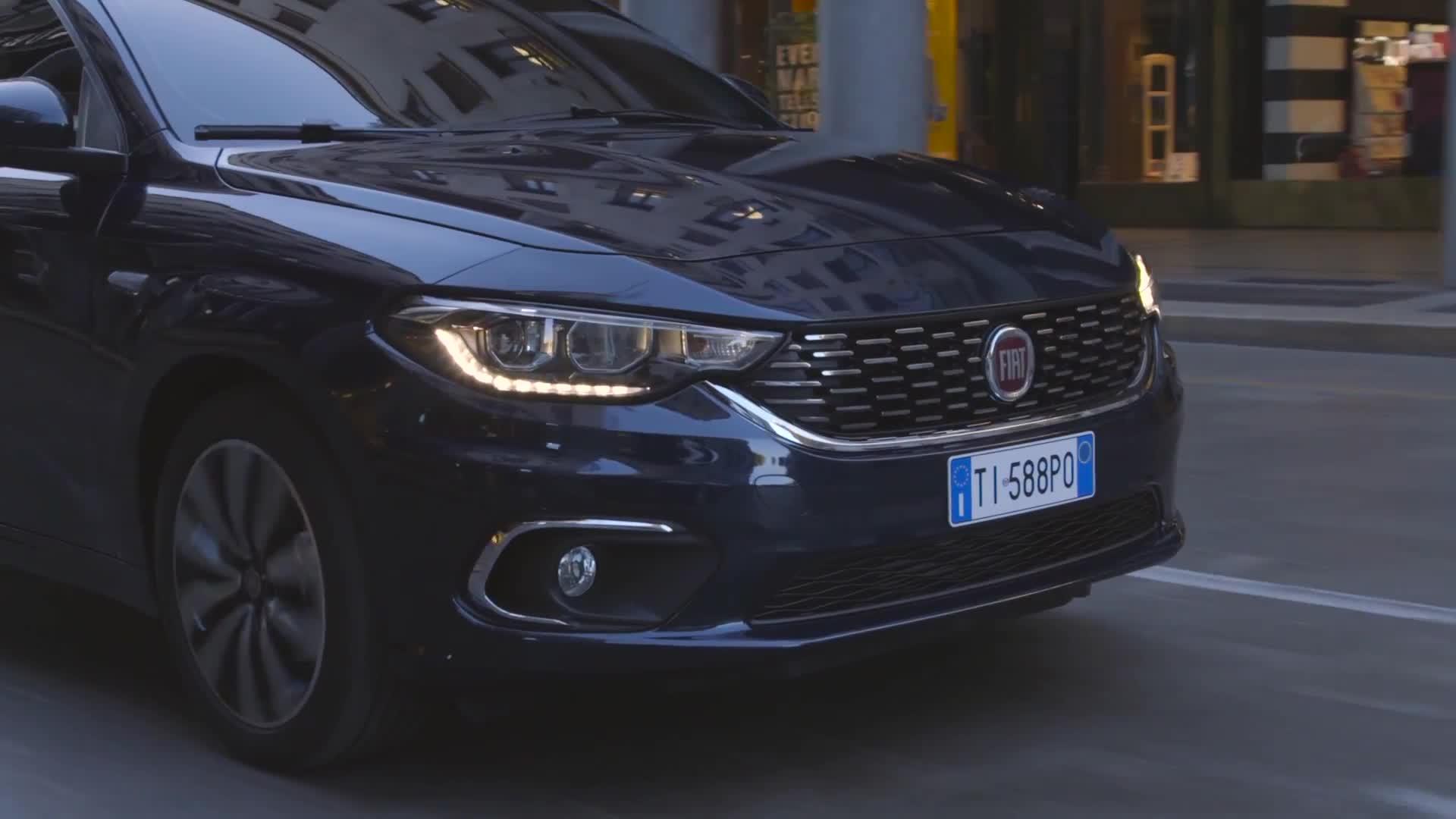 Fiat Tipo family Preview clip