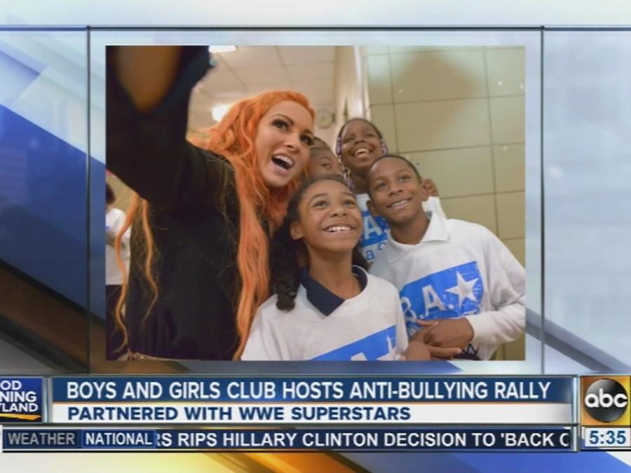 Boys and Girls Club hosts anti-bullying rally